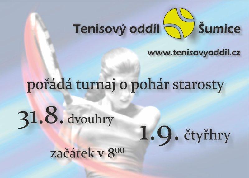 Plakát, turnaj starosty 2013