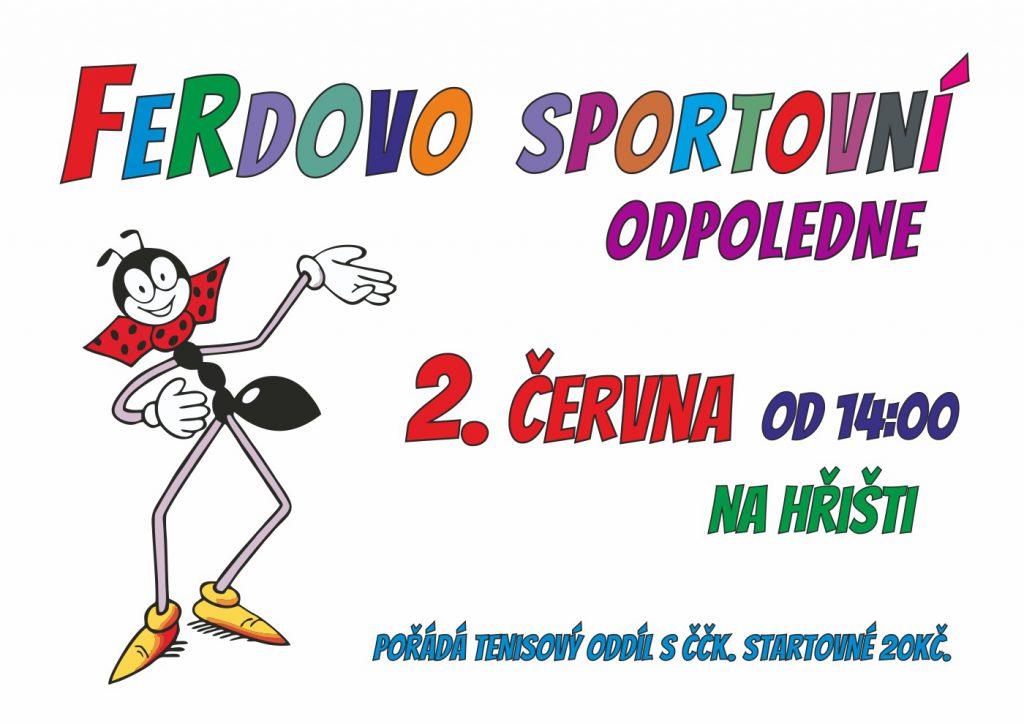Ferdovo sportovní odpoledne 2018