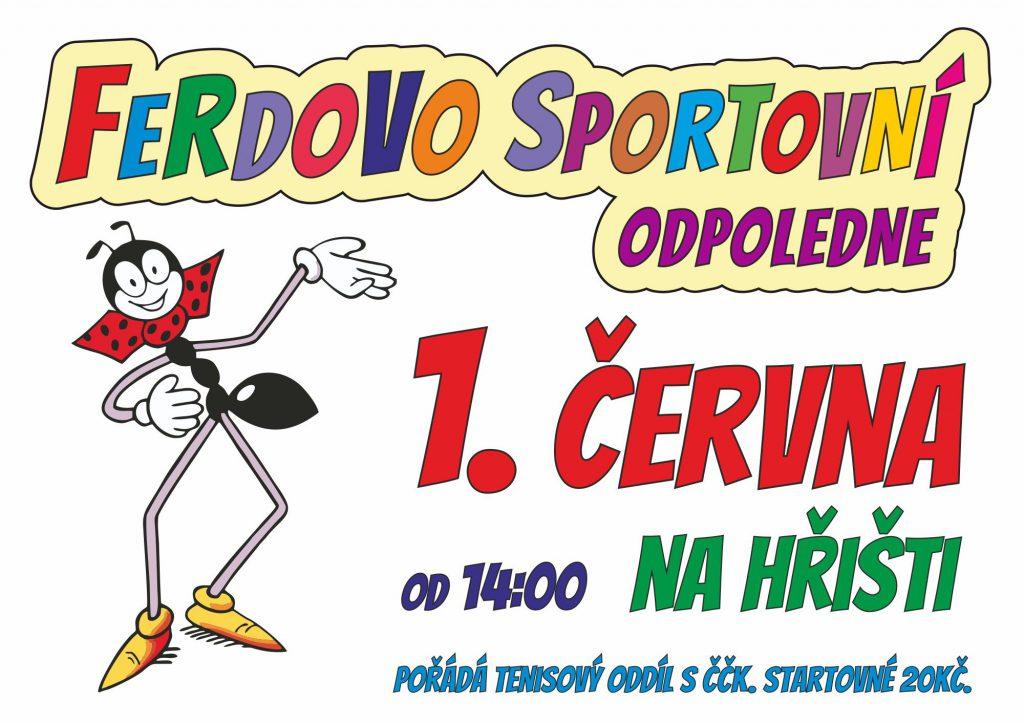 Ferdovo sportovní odpoledne 2019