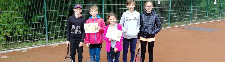 Turnaj tenisové přípravky – ukončení sezóny